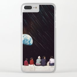 Watch the End Clear iPhone Case