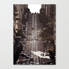 San Francisco Hills Canvas Print