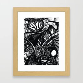 The World of the Gifted Framed Art Print
