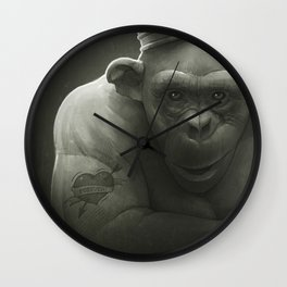 King Wall Clock