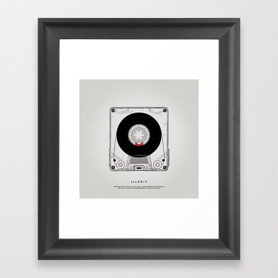 STV - Illogic A01 Framed Art Print