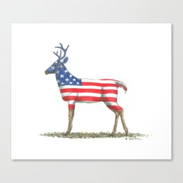 USA Whitetail Deer Canvas Print