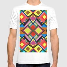 Color Play MEDIUM Mens Fitted Tee White