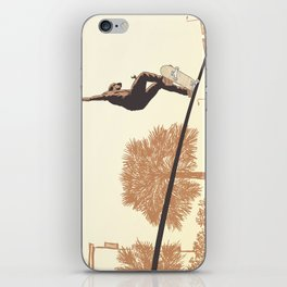 SKATER CROOKED iPhone Skin