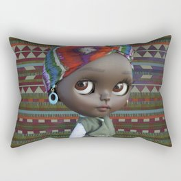 JANET BLYTHE DOLL BY ERREGIRO Rectangular Pillow
