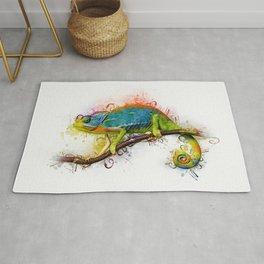 Chameleon Art Rug