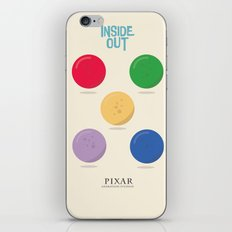 Inside Out - Minimal Movie Poster iPhone & iPod Skin