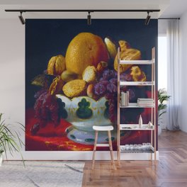 Lilly Martin Spencer Oranges Nuts and Figs Wall Mural
