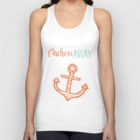 anchor Tank Tops featuring Anchor by Zen and Chic