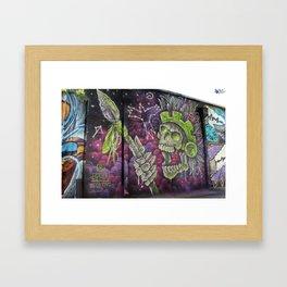 Mayan Warrior Spirit Framed Art Print