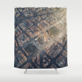Let there be light! Shower Curtain