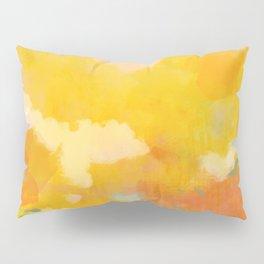abstract spring sun Pillow Sham