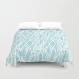 Sand Flow Pattern - Light Blue Duvet Cover