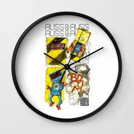 AUSS & AUSS - SEASON 1: THE GIFT - BOOM! Wall Clock