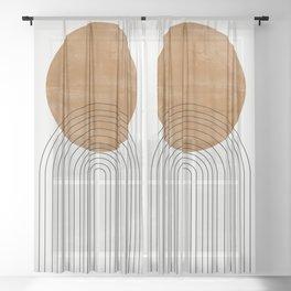 Arch III Sheer Curtain