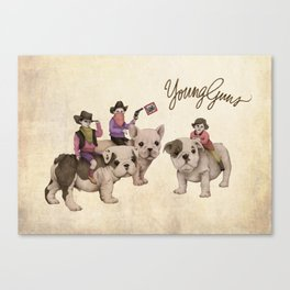 Young Guns Canvas Print