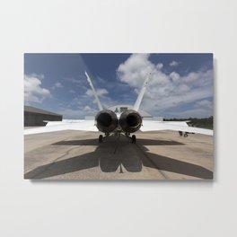 1178. Sonic Booms in Atmospheric Turbulence (SonicBAT) Testing Metal Print