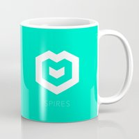 spires Mugs featuring Spires logo by Spires