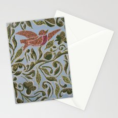 Bird & leaves Stationery Cards