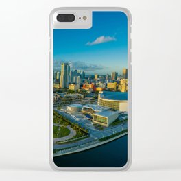 Miami, Florida Panorama Clear iPhone Case