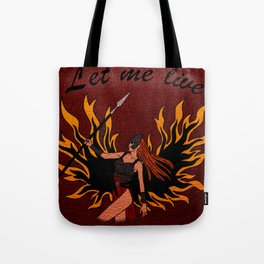 Resident Evil Claire Redfield Jacket Tote Bag