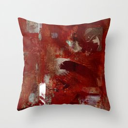 Burgundy Throw Pillow