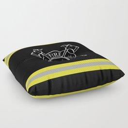 Firefighter Home Floor Pillow