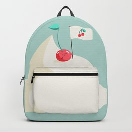 Cherry on top (of the whipped cream mountain) Backpack