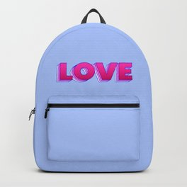 LOVE is a magic word Backpack
