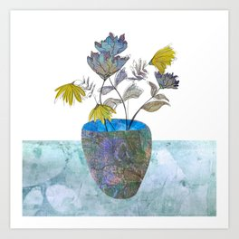 Country flowers Art Print