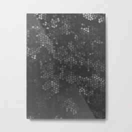 Fading molecules Metal Print