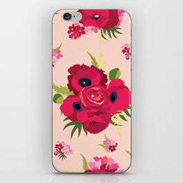 All about red iPhone Skin