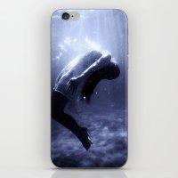 underwater iPhone & iPod Skins featuring Underwater by EclipseLio