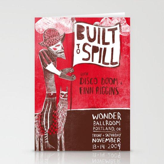 Built to Spill - Wonder Ballroom, Portland Stationery Cards