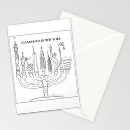 Chanukah in New York Stationery Cards