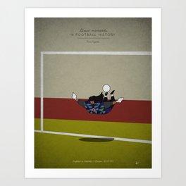 Renè Higuita Art Print