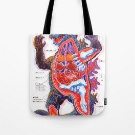 Godzilla 3 Tote Bag