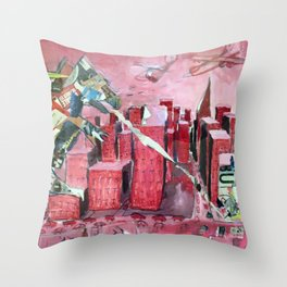 AdZilla Throw Pillow