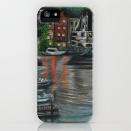 Manistee at Night iPhone Case