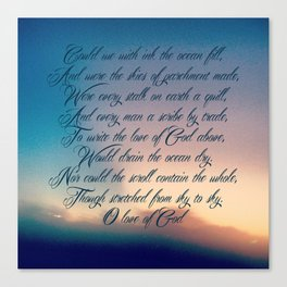 Love of God Canvas Print