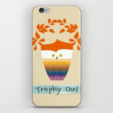 Trophy Owl iPhone & iPod Skin
