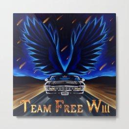 Team Free Will Metal Print
