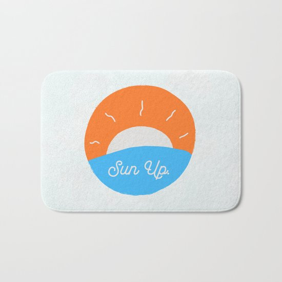 Sun Up Bath Mat