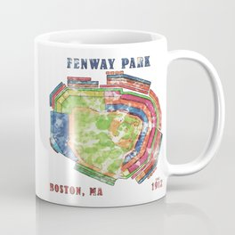 Fenway Park Baseball Stadium Coffee Mug