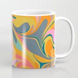 Abstract in Yellow Coffee Mug