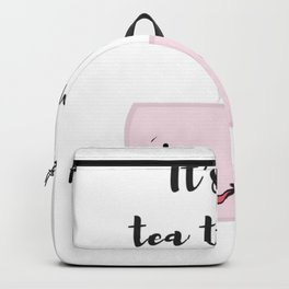 Tea time illustration Backpack