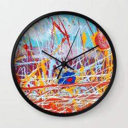 Action Landscape Wall Clock