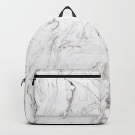 Light gray marble Backpack