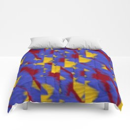 pattern funk colortheme 1 Comforters