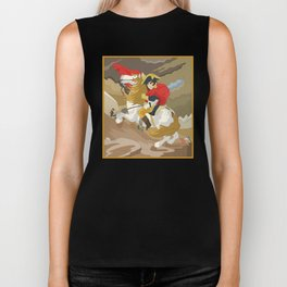 Napoleon Crossing the Alps by  Jacques-Louis David  Biker Tank